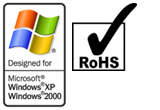 Microsoft Certified & RoHS Graphic