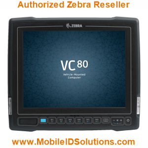 Zebra VC80 Vehicle Mount Computer Photo