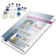 Zebra Card P420C Laminates and Overlays Picture